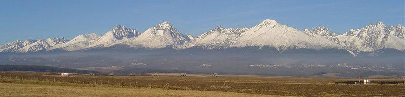 CP 3: Hohe Tatra, Slowakei