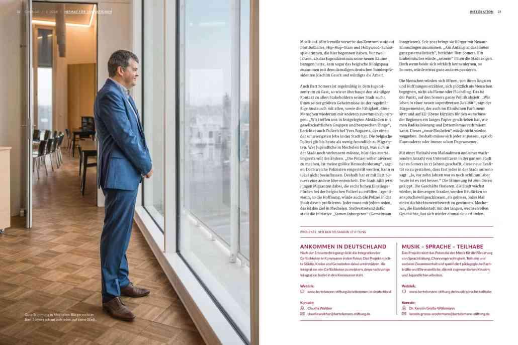 Change Magazin: Reportage Mechelen