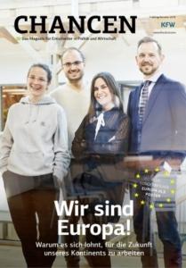 Thema Europa: KfW Magazin Chancen, Mai 2019