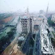 Blick aus dem Kallmorgentower Hamburg