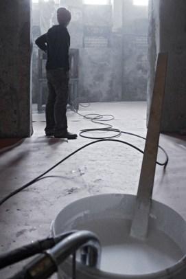 Ausbau zweier Galerieräume im Vorderhaus der Torstraße 111