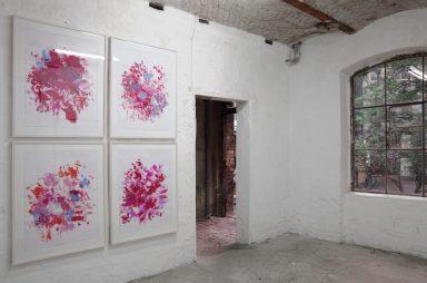 TRANSNORD, Ausstellungsansicht, Ulrike Seyboth, Malerei