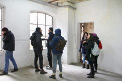 November 2016, erstes Treffen mit den Studierenden der UdK Berlin, Kunstruine
