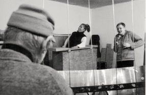Konzert in der Torstraße 111, Bob Rutman, Robyn Schulkowski, Michael Schiefel