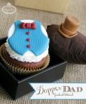 Apák napi cupcake dekoráció készítése