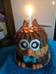 Bagoly torta készítése, életem első tortája :-)