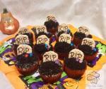 Halloween nutellás cupcake, olvasói recept