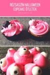 Cupcake díszítési ötletek halloweenre