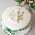 10 elképesztően szép karácsonyi tortadíszítés
