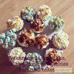 Vajkaramellás cupcake recept