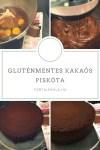 Gluténmentes, kakaós piskóta, szaftos piskóta recept