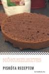 Gluténmentes, kakaós piskóta kókuszlisztből