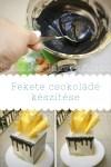 Fekete csokoládé készítése, én így csinálom, és tényleg fekete:-)
