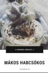 Mákos habcsókos vaníliás pohárkrém