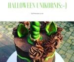 Halloween unikornis, mert bolondozni jó:-)