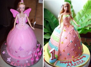 Tortas decoradas de Barbie (14)