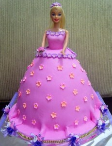 Tortas decoradas de Barbie (9)