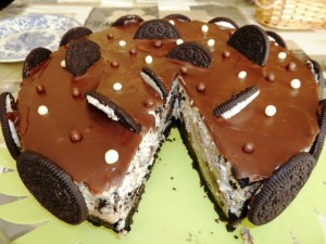 Tortas decoradas con galletitas oreo (1)