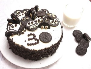 Tortas decoradas con galletitas oreo (9)