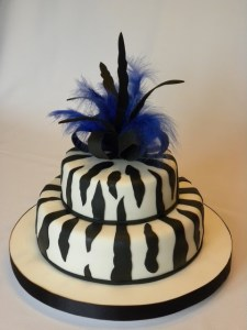 Tortas decoradas con animal print (6)
