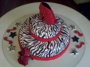 Tortas decoradas con animal print (7)