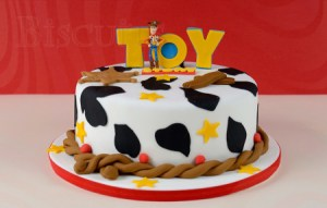 11 Hermosas tortas decoradas de Woody (4)