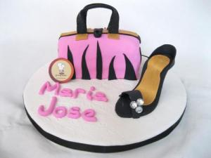 10 Femeninas tortas decoradas con zapatos (7)