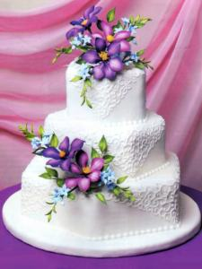 11 Ideas para decorar una torta con flores (9)