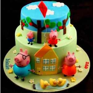 10 tortas decoradas de peppa pig (1)