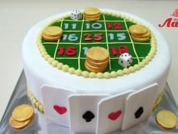 #п150(23) торт казино рулетка карты кости