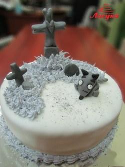 #п160(48) торт на хеллоуин Helloween