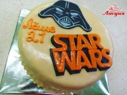 #п200(60) торт Звёздные Войны Star Wars cake