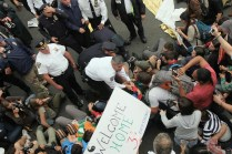 Wall Street Protest Continues In New York