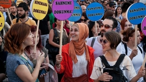 Young female Turks, many of them students, lawyers, teachers and office workers, easily account for half of the thousands of demonstrators in Gezi Park and nearby Taksim Square