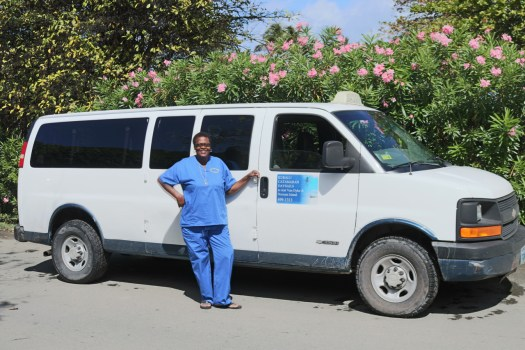 Tortola Taxi Van