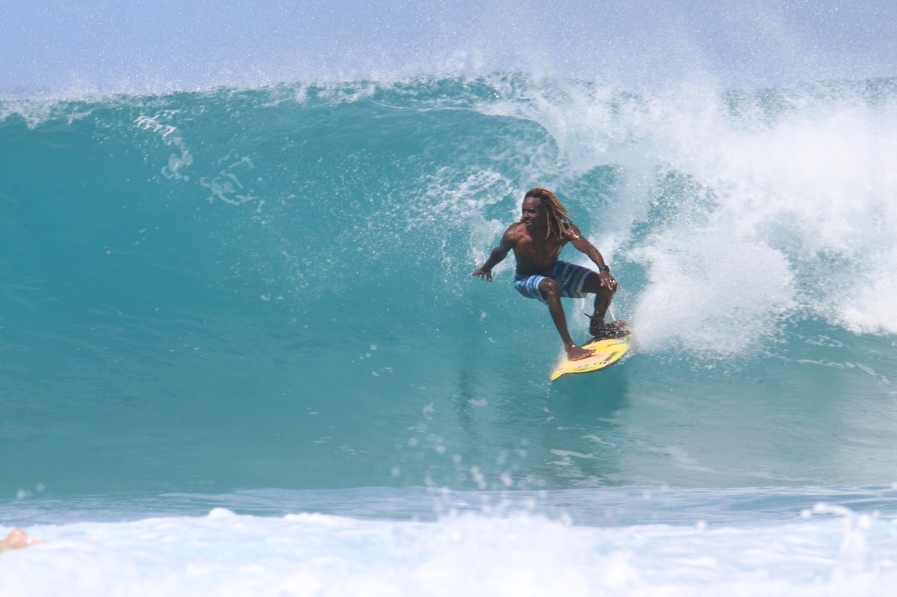 Tortola Surfer
