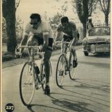 Fausto Coppi e Louison Bobet al trofeo Baracchi
