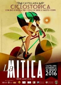 Casa Coppi Castellania. Poster de La Mitica 2016