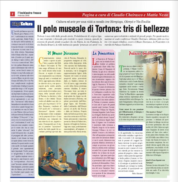 """""""l'inchiostro fresco"""" pag. 2 Febbraio 2016"""