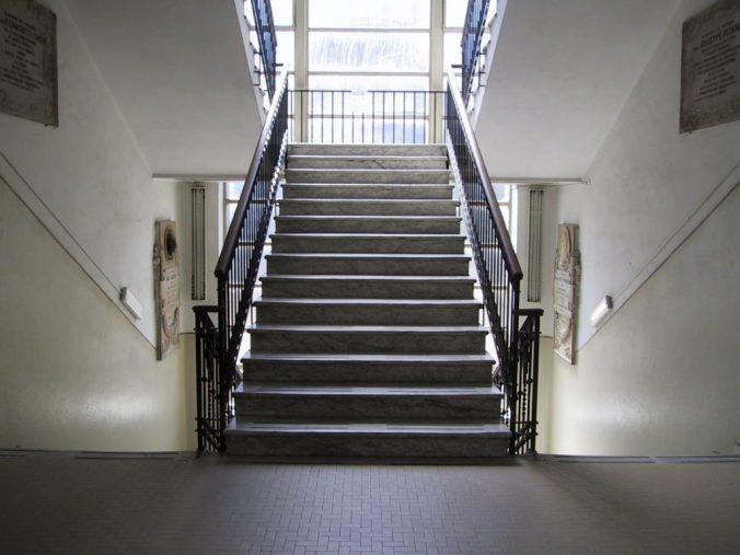 scala Ospedale Civile di Tortona