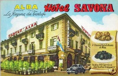 cartolina hotel savona alba