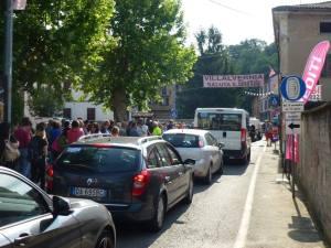 Il #Giro100 la base logistica di Villalvernia