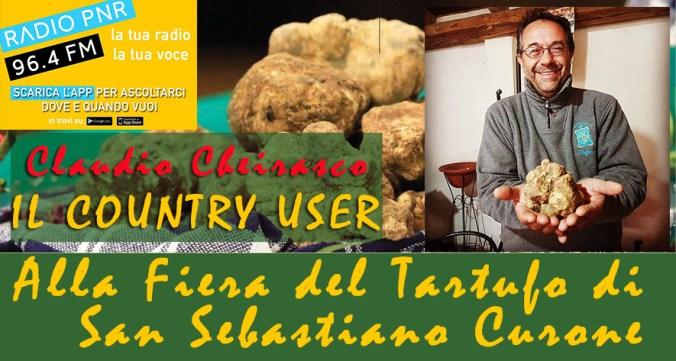 Claudio Cheirasco, #IlCountryUser di Radio PNR Tortona, 4^ Puntata