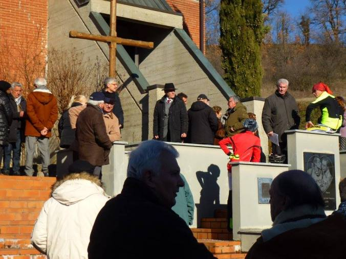 La cappella del mausoleo dei fratelli coppi