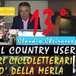 Tredicesima puntata de #IlCountryUser agli incontri Cicloletterari