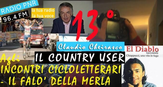 Tredicesima puntata de #IlCountryUser di Radio Pnr Tortona