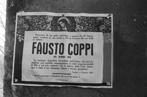 2 gennaio 1960 muore a Tortona Fausto Coppi