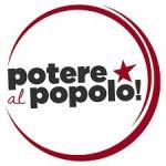 logo di potere al popolo