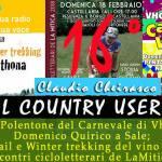 Sedicesimo Country User – Carnevale sui colli tortonesi