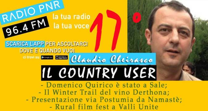 Claudio Cheirasco Il country user puntata numero 17